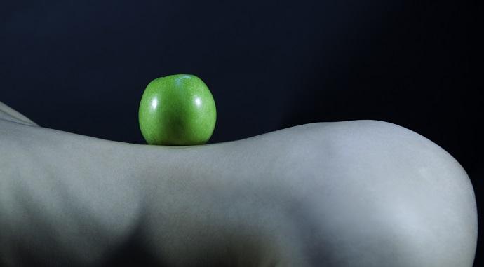 Nude, erotic shooting