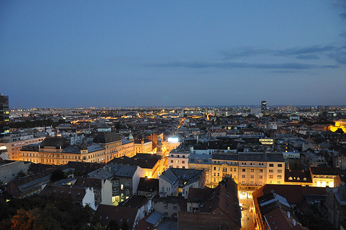 Zagreb at Dusk medium